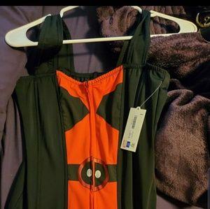 MARVEL Deadpool corset size large brand new.